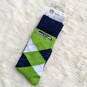 NWT Seattle Seahawks Socks